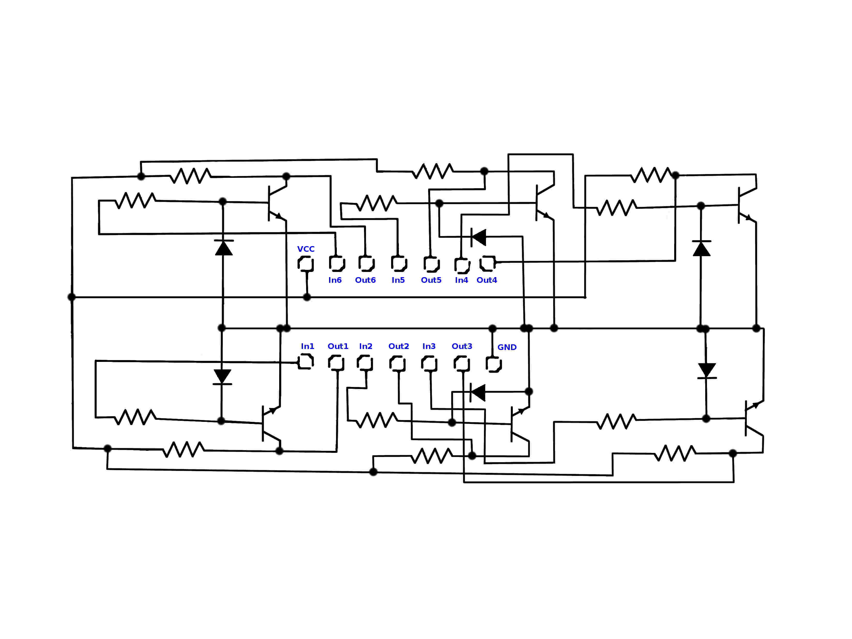 7404 gate diagram lift gate wiring diagram logic buffers « benningtons.net