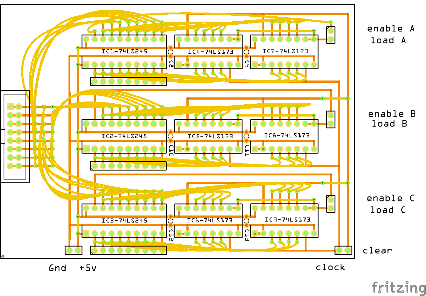 8 Bit Cpu Registers Circuit Diagram Of Alu Board